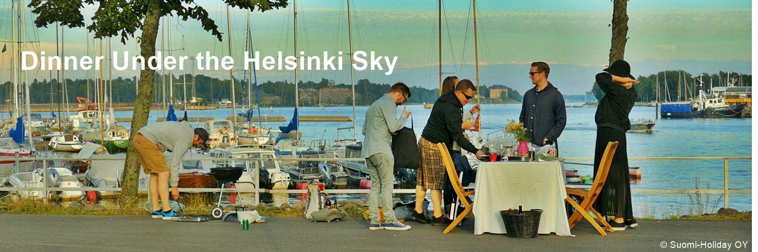 Dinner Under the Helsinki Sky August