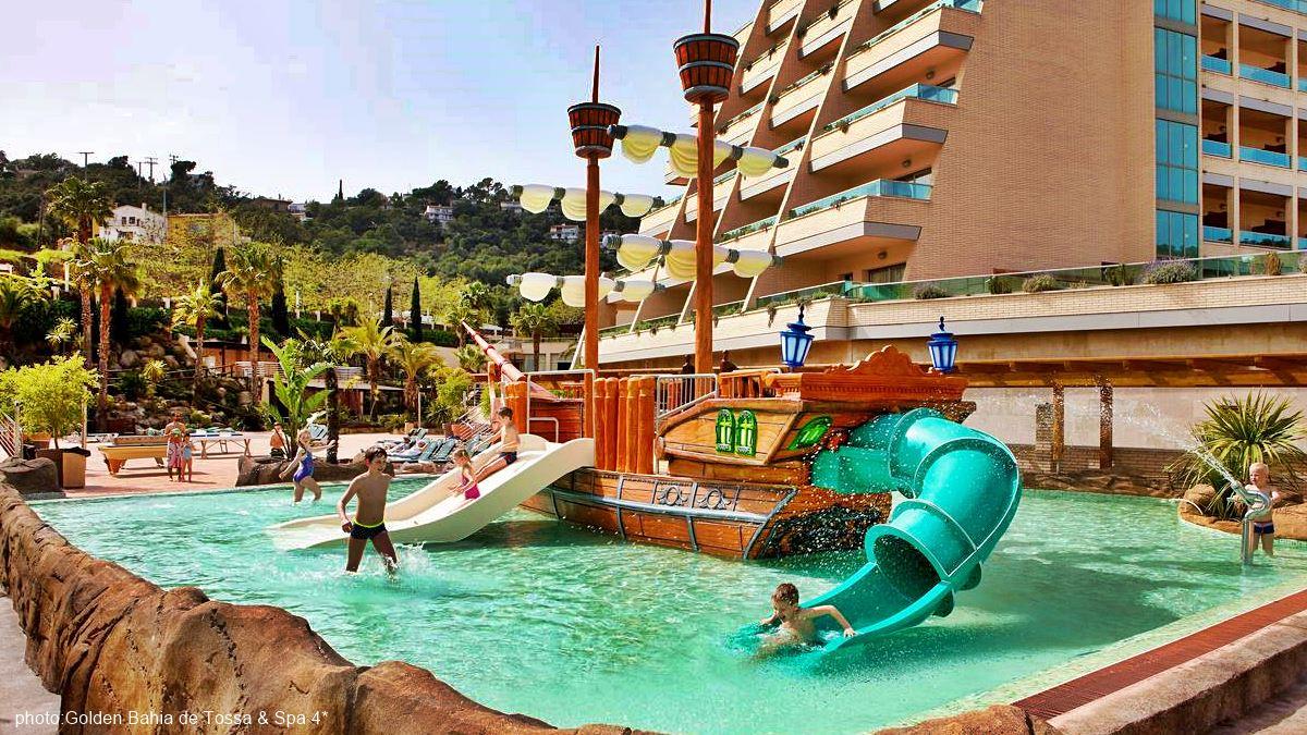 Golden Bahia de Tossa & Spa 4* Sup. swimming