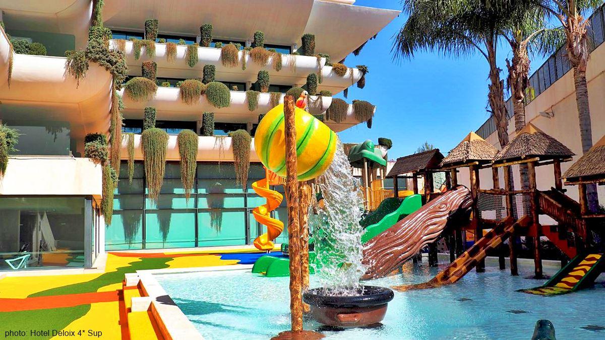 Hotel Deloix 4* Sup swimming