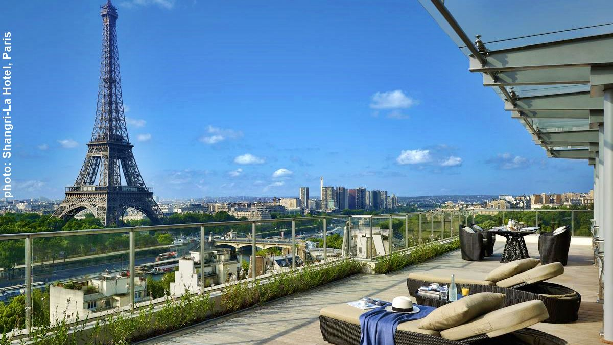 HOTELS WITH EIFFEL TOWER VIEW